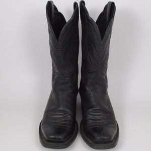 ariat Shoes - Ariat 6.5 Black Legends Classic Western Boots GUC